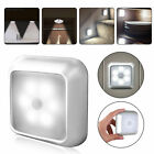 6LED Motion Sensor Closet Light Wireless Night Wall Cabinet Battery Power Indoor