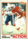 1982 Topps FB #s 151-300 MOST STOCK PHOTOS (A0315) - You Pick - 10+ FREE SHIP $1.4 CAD on eBay