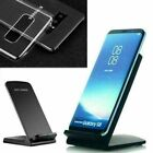 Clear Protective Case Wireless Charger Charging Dock Holder For Samsung Note 10