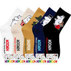 MOOMIN Women Ankle Socks Cartoon Character Casual Crew Fashion Cotton Lot Sock