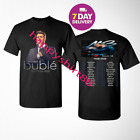 Michael Buble T Shirt Tour 2020 Concert Music Black T Shirt.Size S-3XL. image