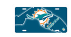 Florida State New Miami Dolphins License Plate Football Fan NFL Car Truck $19.99 USD on eBay