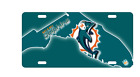 Florida State Retro Miami Dolphins License Plate Football Fan NFL Car Truck $19.99 USD on eBay
