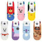 BT21 BTS Character Women Ankle Socks Official Goods Lot Low Cut Sneakers