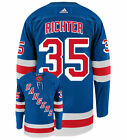 Mike Richter New York Rangers Adidas Authentic Home NHL Vintage Hockey Jersey