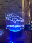NFL Logo LED lighted base included. $19.99 USD on eBay