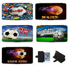 Personalised Football iPhone Case Flip Phone Cover Birthday Gift Basket Tennis £10.95 GBP on eBay