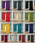 Luxury Thermal Blackout Curtains Pencil Pleat Curtains Pair Top With Tie Backs