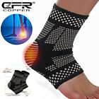 Copper Ankle Brace Compression Support Sleeve fit Joint Foot Socks Arch Swelling