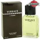 VERSACE L'HOMME Cologne 3.4 oz EDT Spray for Men by Versace