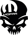 Mopar Skull Dodge Head Charger Challenger SRT - Window Decal Sticker #Mopar 2pk $12.5 USD on eBay