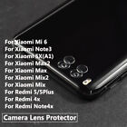 Premium Back Camera Lens Tempered Glass Protectors For Xiaomi Mi Redmi Series