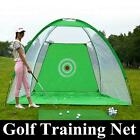 3m Foldable Golf Driving Cage Practice Hitting Net Indoor Outdoor Home Garden US
