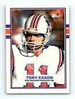 1989 Topps Football Cards - You Pick Your Own - Complete Your Set (201-400) $1.75 USD on eBay