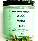 THERAPEUTIC SOOTHING PURE ALOE VERA GEL SKIN MOISTURIZER ALL NATURAL- UNDILUTED