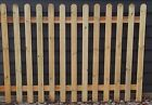 Picket Fence Fencing Panel Kit (5x  Panels, 6 X Posts, 6 X Post Fix)