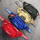 New 44th Reflective *supreme18ss Box Logo Waterproof Laptop Waist Shoulder Bag