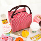 Insulated Cooler Picnic Lunch Bag Bento Box Handbag Thermal Zip Food Tote YU