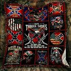 The Side You Never Want To See Redneck Fleece Blanket