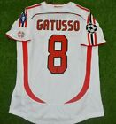 AC MILAN GATUSSO 2007 Champions league final retro jersey