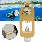 Scubas Diving Adapter 8mm Oxygen Bottle Connector for Underwater Snorkeling