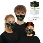 FixedPricehiphop cospaly party funny  facemask half face mouth mark washable one size mask