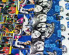 LICENSED STAR WARS FAT QUARTER CRAFT BUNDLE  - 5 PIECES 100% COTTON - NEW