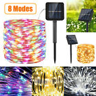 Solar Powered 240LED String Light Garden Path Yard Decor Lamp Outdoor Waterproof