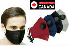 Reusable Fabric Face Mask Unisex with 2 FREE PM2.5 Activated Carbon Filter