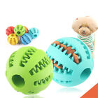 bite Teeth Cleaning Interactive Food Dispenser Feeder PetToys Dog Treat Ball