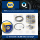 Wheel Bearing Kit fits MAZDA MX-5 NA 1.6 Rear 90 to 98 NAPA B21M33048 B45533047A