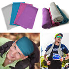 4 pcs Ice Cold Instant Cooling Towel for Sports Gym Yoga Fitness Workout Jogging image