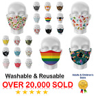 Kyпить Face Mask Reusable Washable Protective Breathable Covering Adults Kids Cotton на еВаy.соm