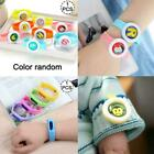 Mosquito Repellent Microfiber Bracelets Wristband Cartoon Insect Repellent T7g4