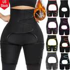 Leg & Abdomen Fat Burner Shaper Waist Trainer Thigh Trimmer Belt Weight Loss US image