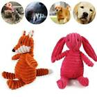 Cute Pet Dog Puppy Chew Toy Squeaker Squeaky Soft Plush Play Sound Teeth Toys Py
