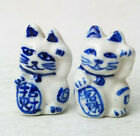 Porcelain Painted Beads Your Choice of Animal Owl Cat Pig Frog Sheep