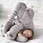Soft Appease Elephant Playmate Calm Doll Baby Toy Elephant Pillow Plush Toy Gift