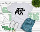 Mama Bear T Shirt Top Gift Mother's Day womens unisex v-neck