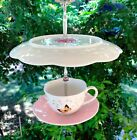 Bird Seed Feeder, Thistle Feeder, Lenox China, Butterfly Collection, Tea Cup