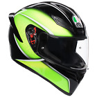AGV K1 - Qualify Black/Lime Motorcycle Helmet Sport Helmet