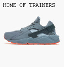 Nike Air Huarache Run Gray 705070 400 Girls Women's Trainers - SALE