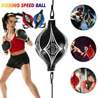 Double End MMA Punching Boxing Sparring Speed Ball Fitness Training Equipment US