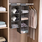 3/5/10 Tier Space Saver Hanging Shoe Storage Closet Organizer Hanger Shelf Rack