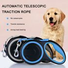 3/5/8m Retractable Dog Leads Pet Padded Extending Leash Tape Cord Max 50kg ND