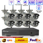 1080P WIFI 8CH Face Detect Audio Sound IR Outdoor Wireless Security Camera Lot