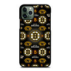 BOSTON BRUINS LOGO iPhone 6/6S 7 8 Plus X/XS Max XR 11 Pro Case Cover $15.9 USD on eBay