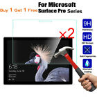 2x Tempered Glass Screen Protector For Microsoft Surface Pro X 1/2/3/4/5/6/7 Go2