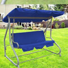 Swing Waterproof 3-Seat Chair Cover Outdoor Garden Hammock Protection Cushion