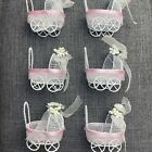 12 Pack Baby Shower Cradle Party Favors